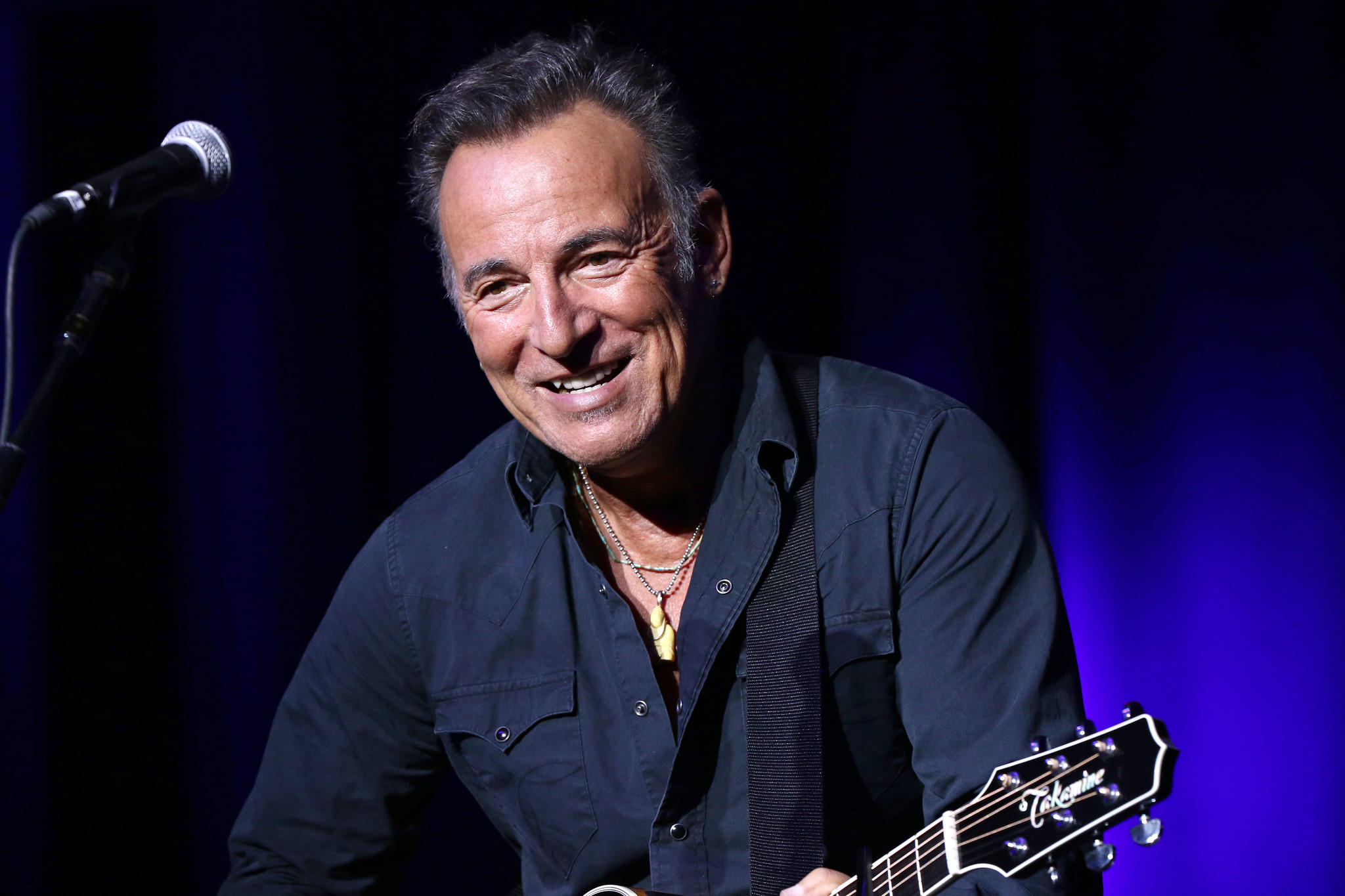 Bruce Springsteen's solo shows on Broadway have been extended through February, just hours after the original run sold out. (Greg Allen / Invision/Associated Press)