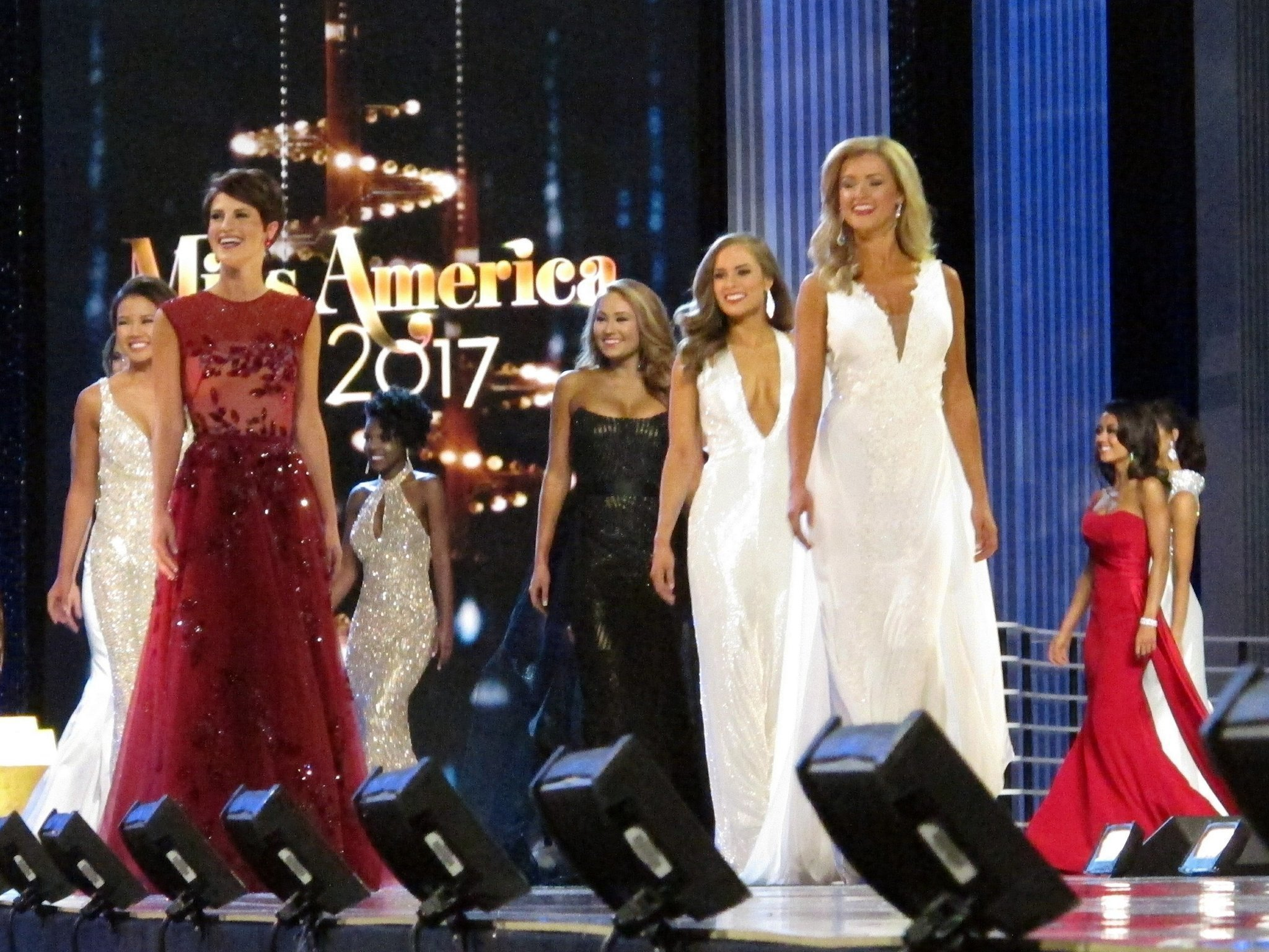 DC, Tennessee win first night Miss America preliminaries - The San ...