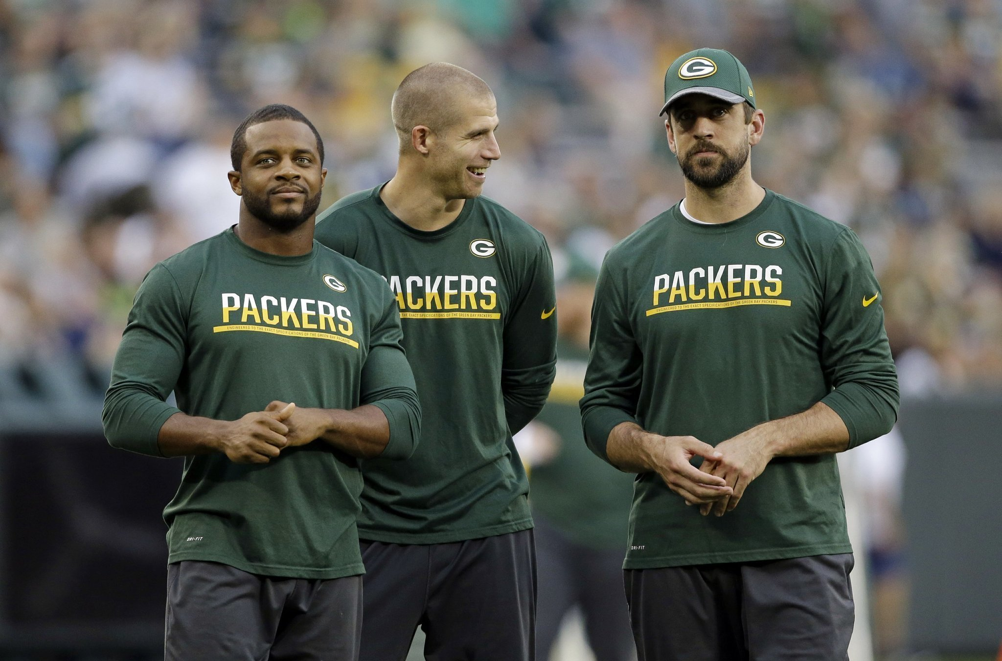 jordy nelson and aaron rodgers. packers receiver jordy nelson: \ nelson and aaron rodgers