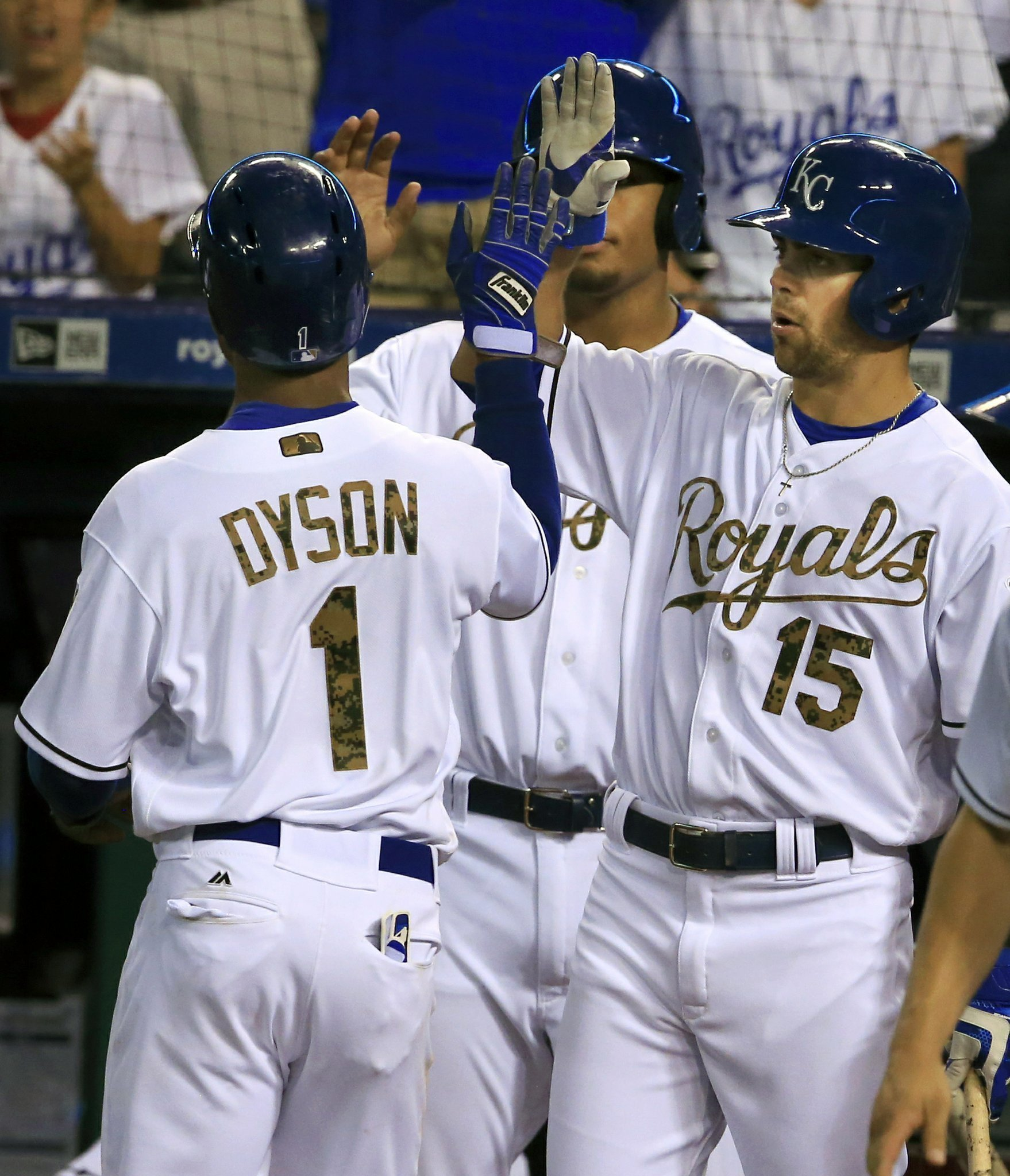 hosmer hits 3 run homer as royals top rays 6 2 the san diego union