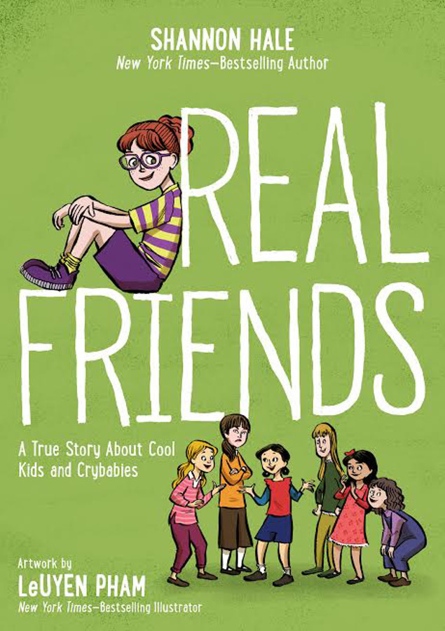 "The cover of ""Real Friends."""