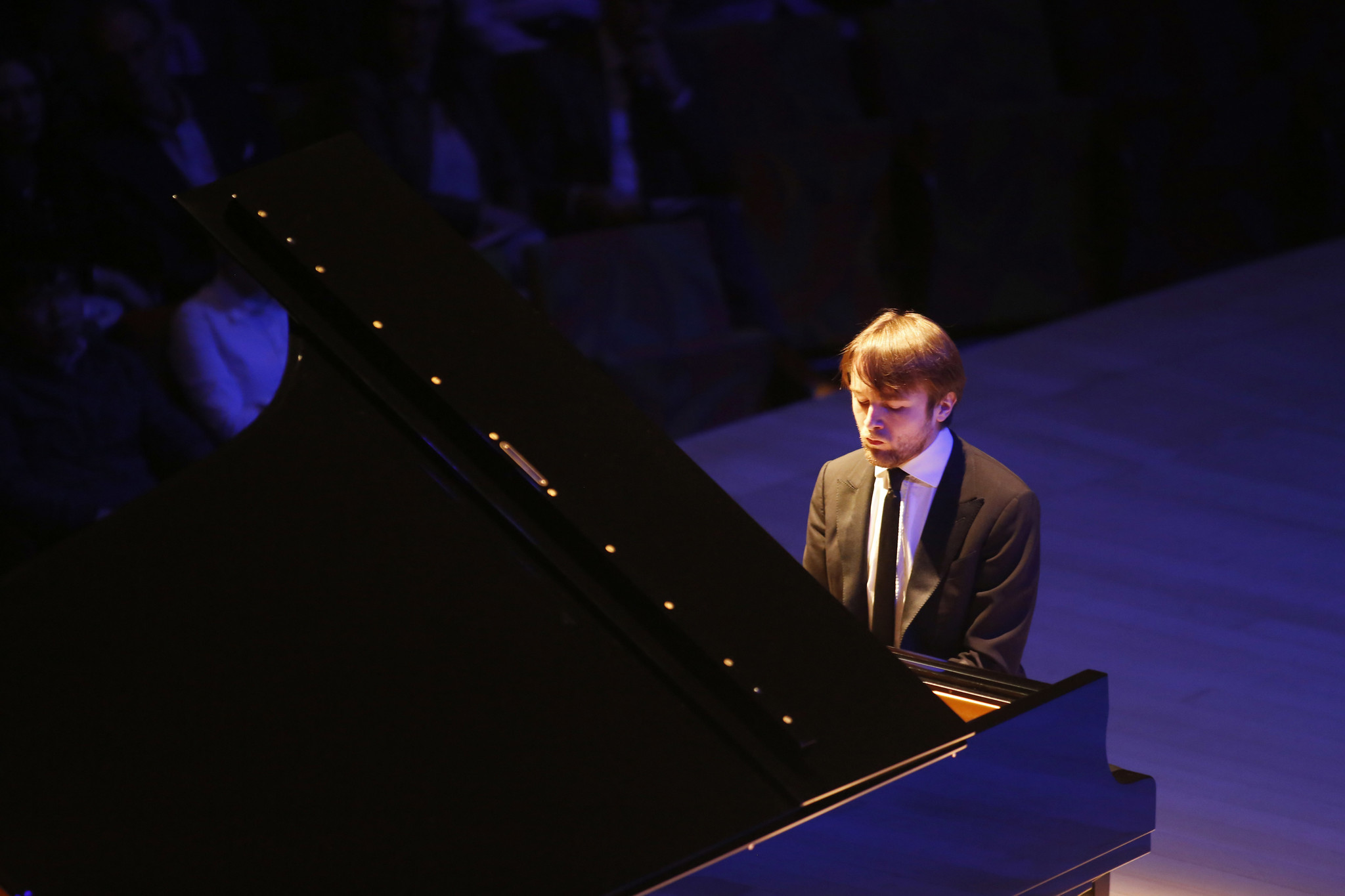 Daniil Trifonov, pictured at Walt Disney Concert Hall earlier this year. The Russian sensation returns in December.