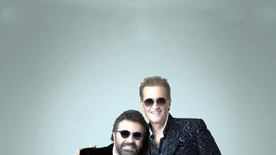 Latin pop stars Emmanuel & Mijares will perform at the Colosseum on Thursday.