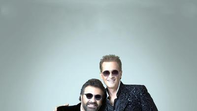 Latin pop stars Emmanuel & Mijares will perform at the Colosseum on Thursday.