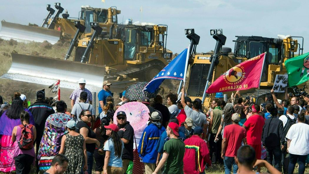 Image result for standing rock sioux protest