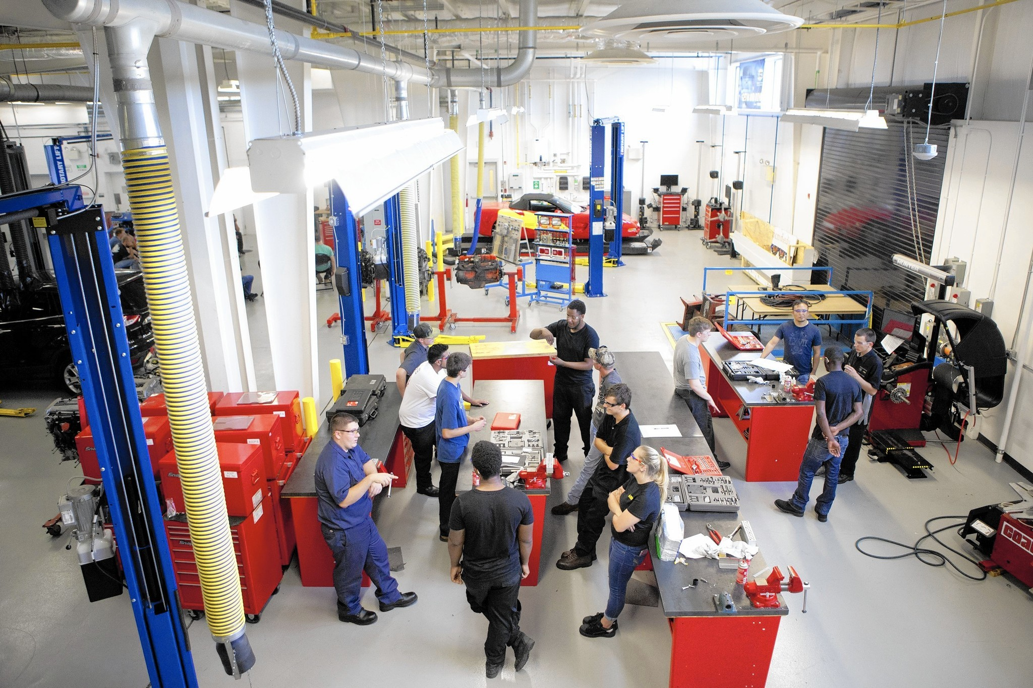 the catonsville car shop that u0026 39 s a laboratory for students