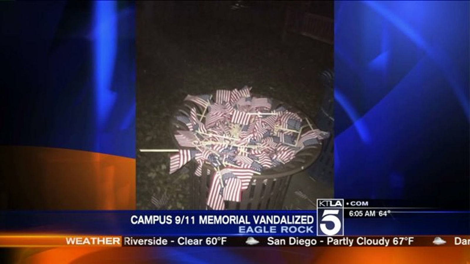 outrage  questions after 9  11 memorial vandalized at