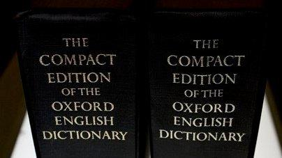 Does anyone have an Oxford English Dictionary?