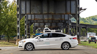 My ride in a self-driving Uber; or how I learned to stop worrying and trust the algorithm
