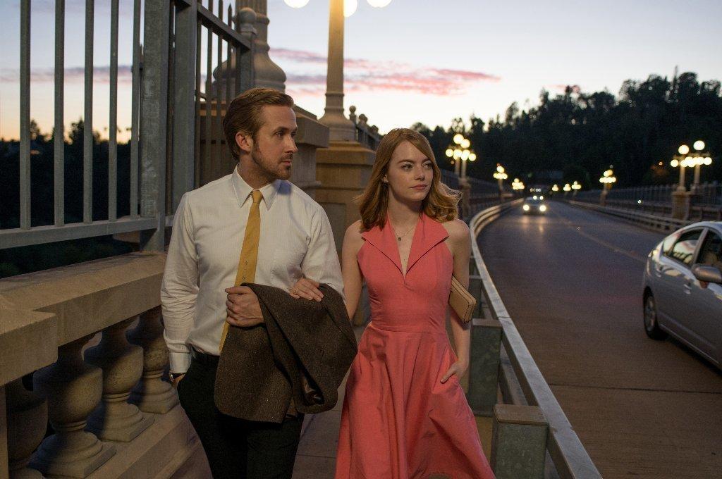 """Ryan Gosling and Emma Stone star in """"La La Land."""" (Dale Robinette / Lionsgate)"""