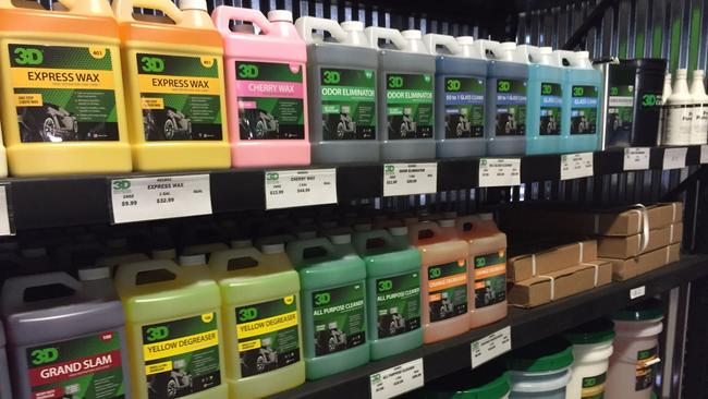 Professional grade detailing products the san diego union tribune gallon jugs and buckets up to 55 gallon drums of chemicals for the professional detailer solutioingenieria Images