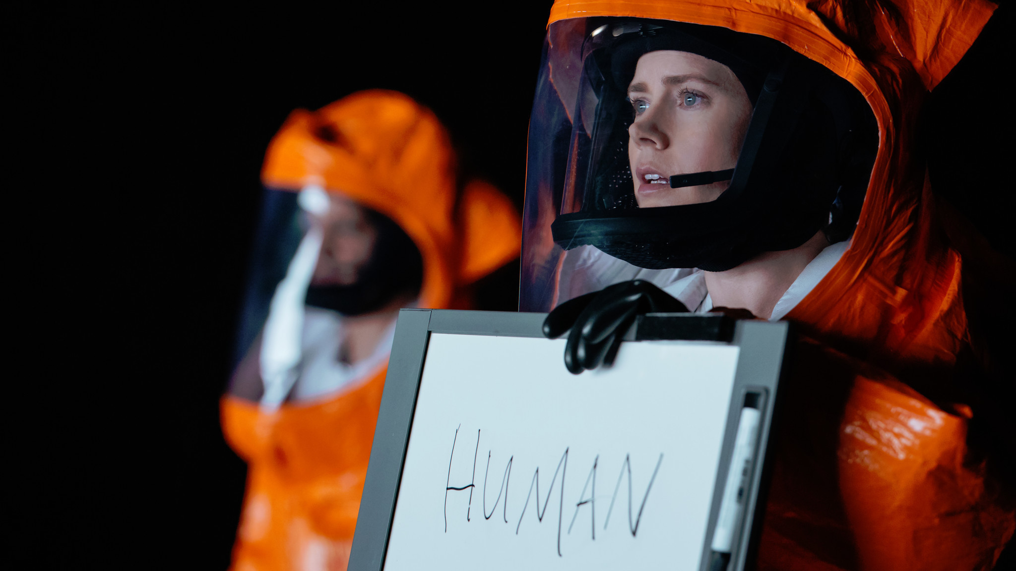 "Amy Adams stars as a linguist trying to communicate with beings from outer space in ""Arrival."" (Paramount Pictures)"