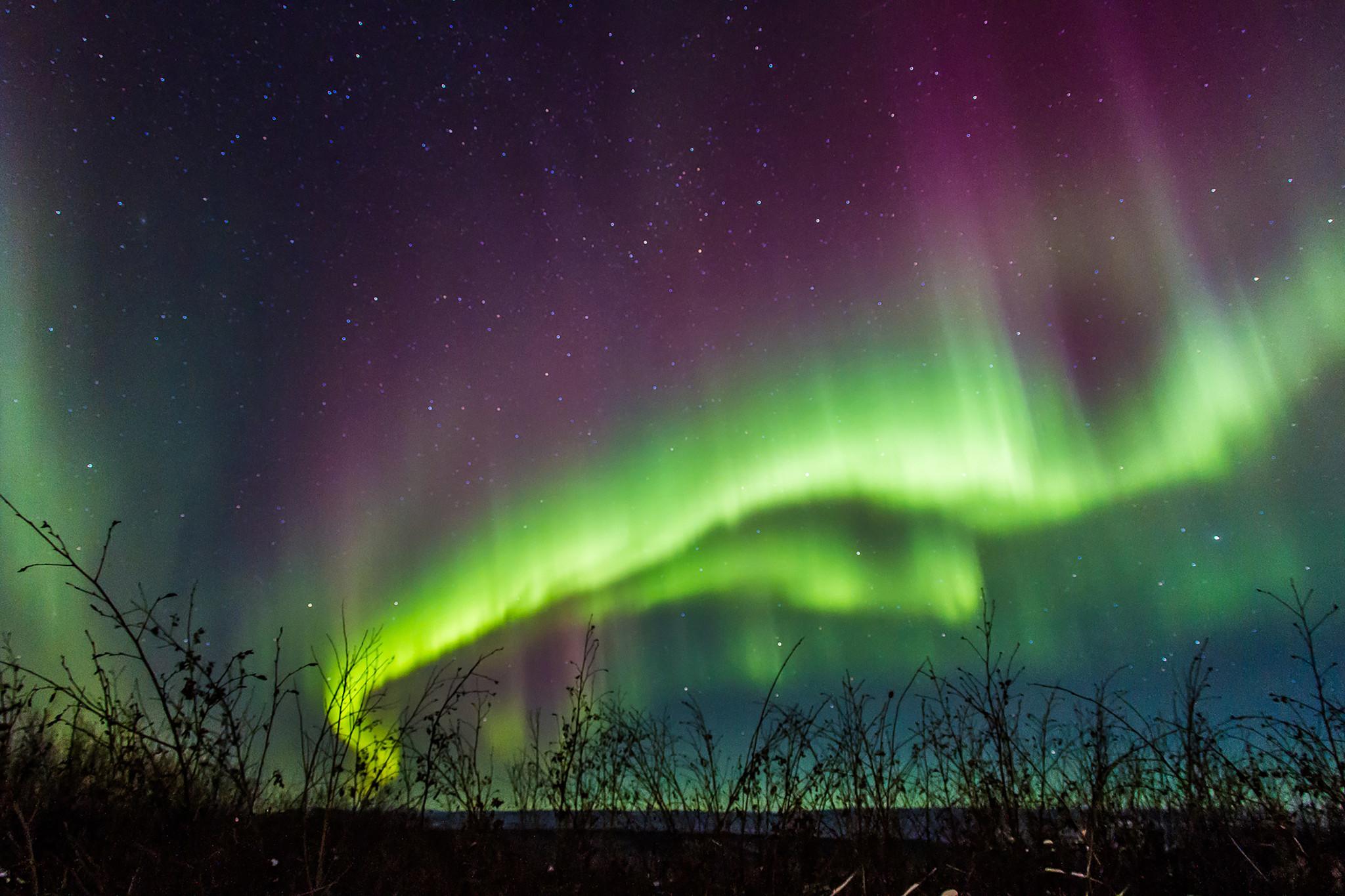 See Alaska S Captivating Northern Lights On This Fairbanks