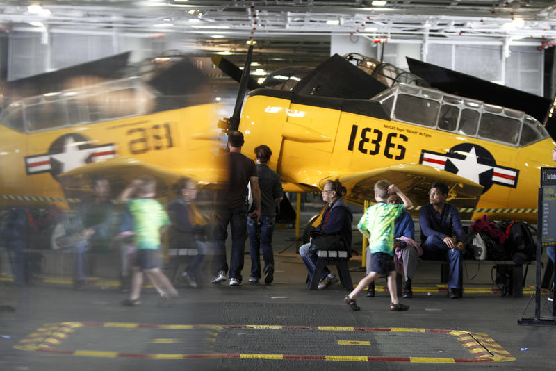 Midway Museum, San Diego. (Mark Boster / Los Angeles Times)