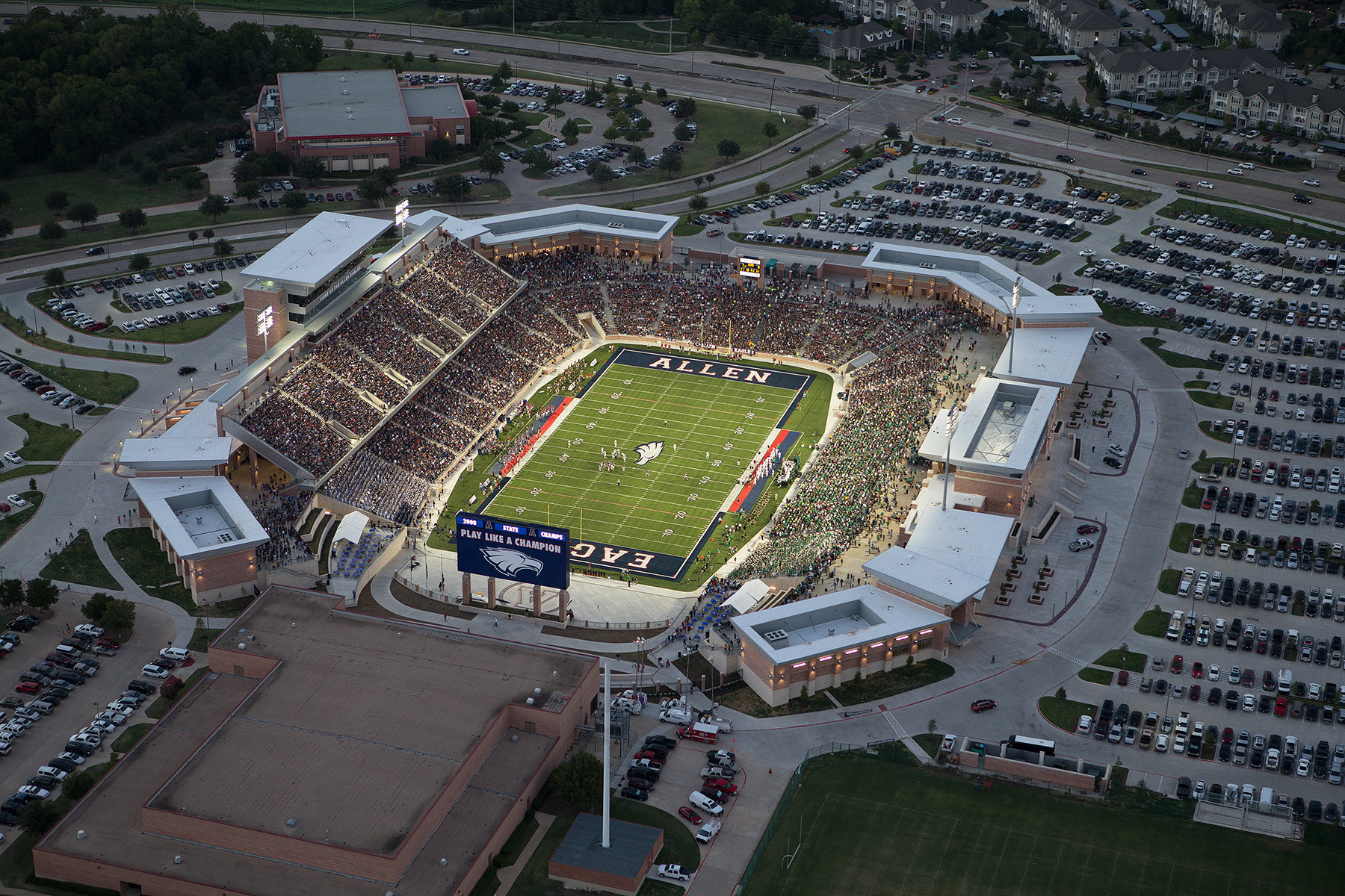 after texas high builds 60 million stadium rival district