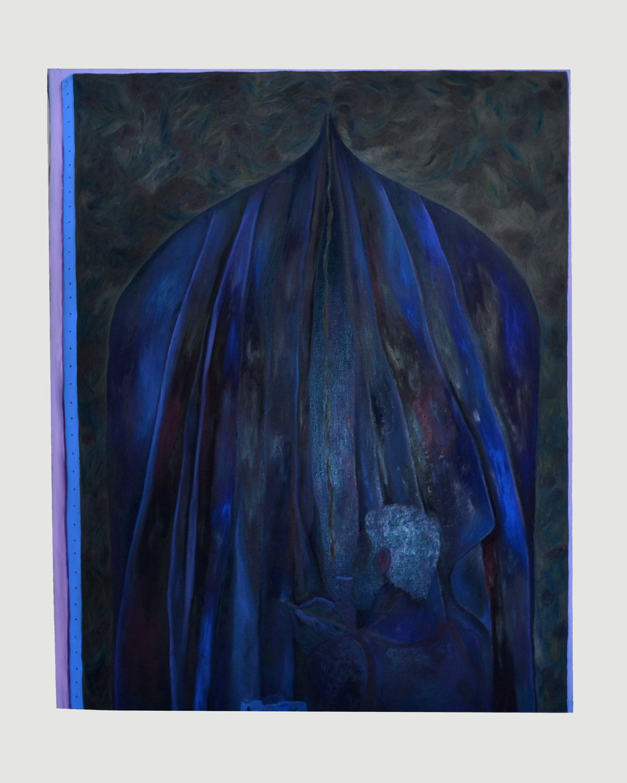 "Srijon Chowdhury's ""Making a painting,"" 2016."