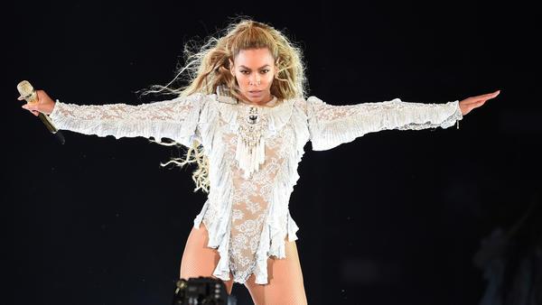 Beyonce at Dodger Stadium in September. (Frank Micelotta / Parkwood Entertainment)