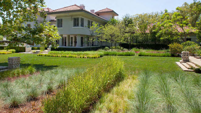 The 1.5 Acre Lawn At A Historic Pasadena Home Gets A Drought Tolerant  Makeover