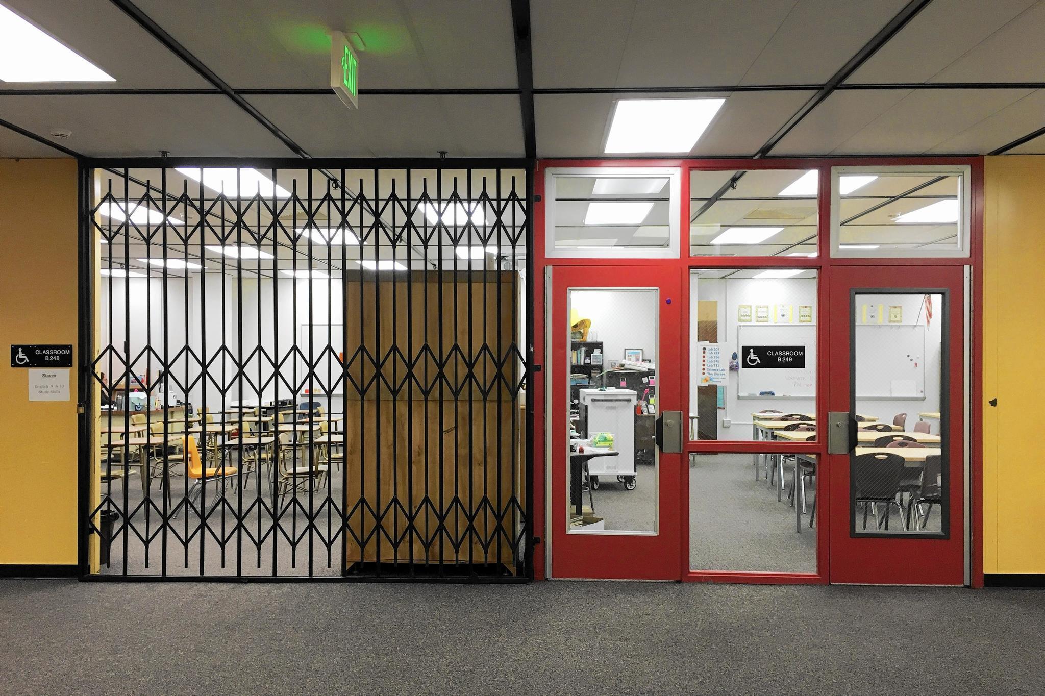 high school classroom door. High School Classroom Door Next Summer, 32 Estancia Classrooms Might Finally Get
