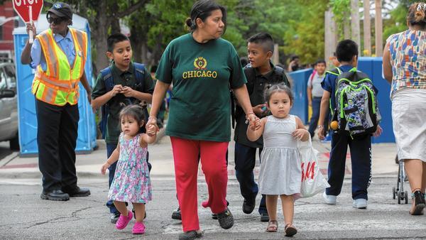 In 4 years, majority of children in Illinois will be minorities – Chicago Tribune
