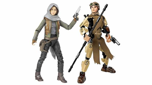 In new batch of 'Star Wars' toys, heroine Jyn Erso is most popular