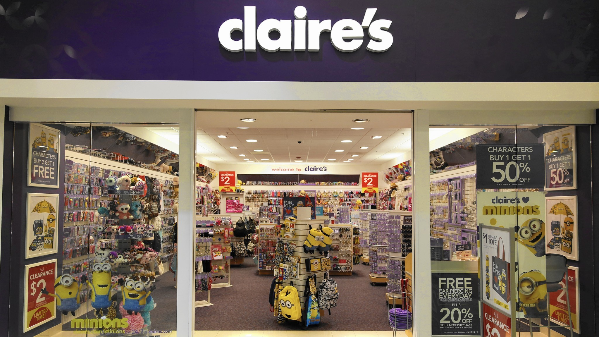 Claire's delays interest payments as financial results ...