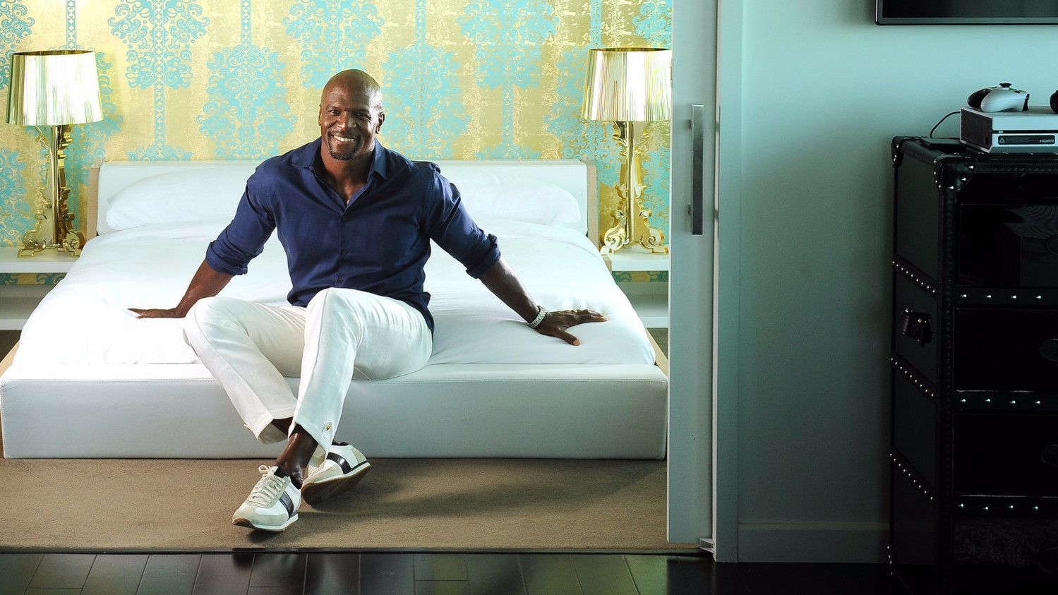 Turns Out Actor Terry Crews Is A Huuuuuge Design Buff Who