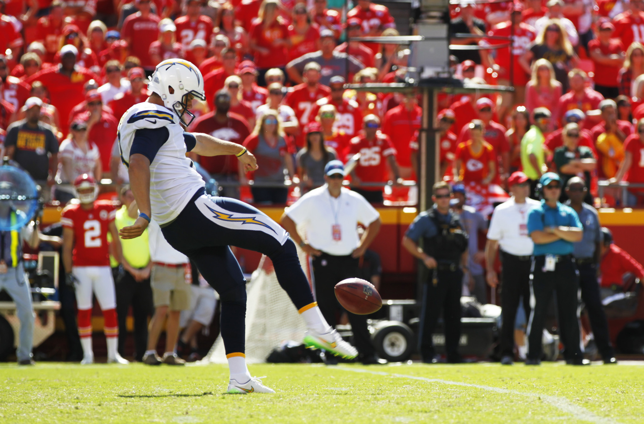 Chargers Punter Drew Kaser Now I Begin The San Diego