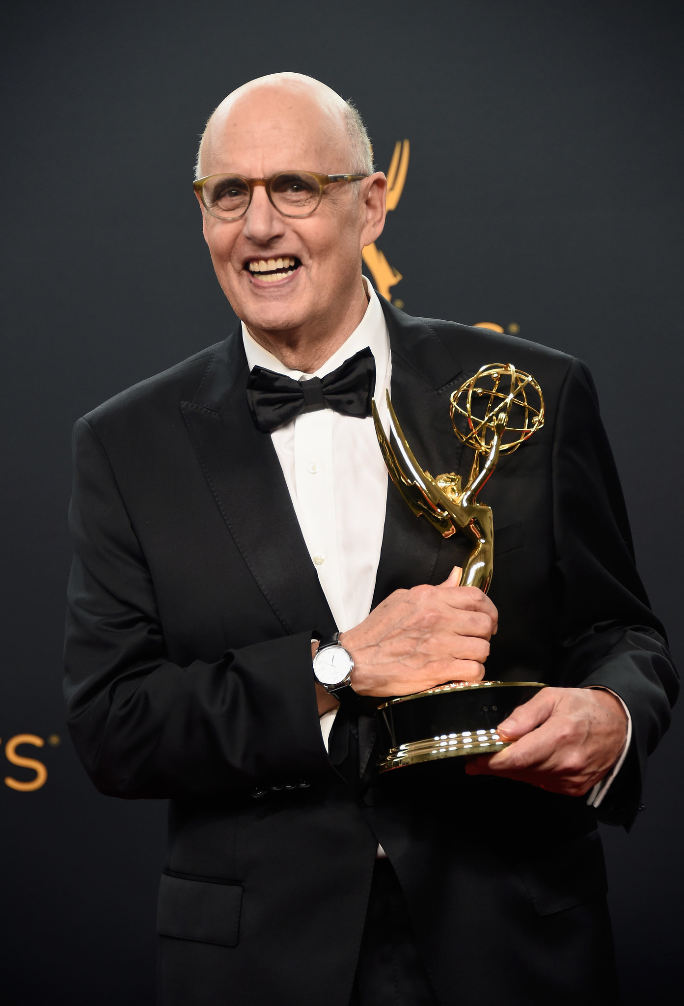 Actor Jeffrey Tambor, winner of Best Actor in a Comedy Series for 'Transparent', poses in the press room during the 68th Emmy Awards at Microsoft Theater. (Frazer Harrison / Getty Images)