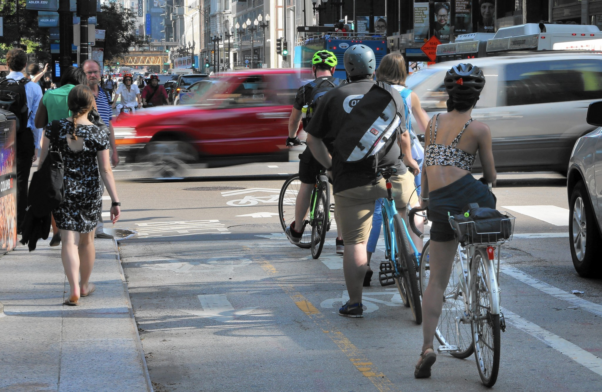 Chicago tops NYC as most bike-friendly city in U.S., magazine finds