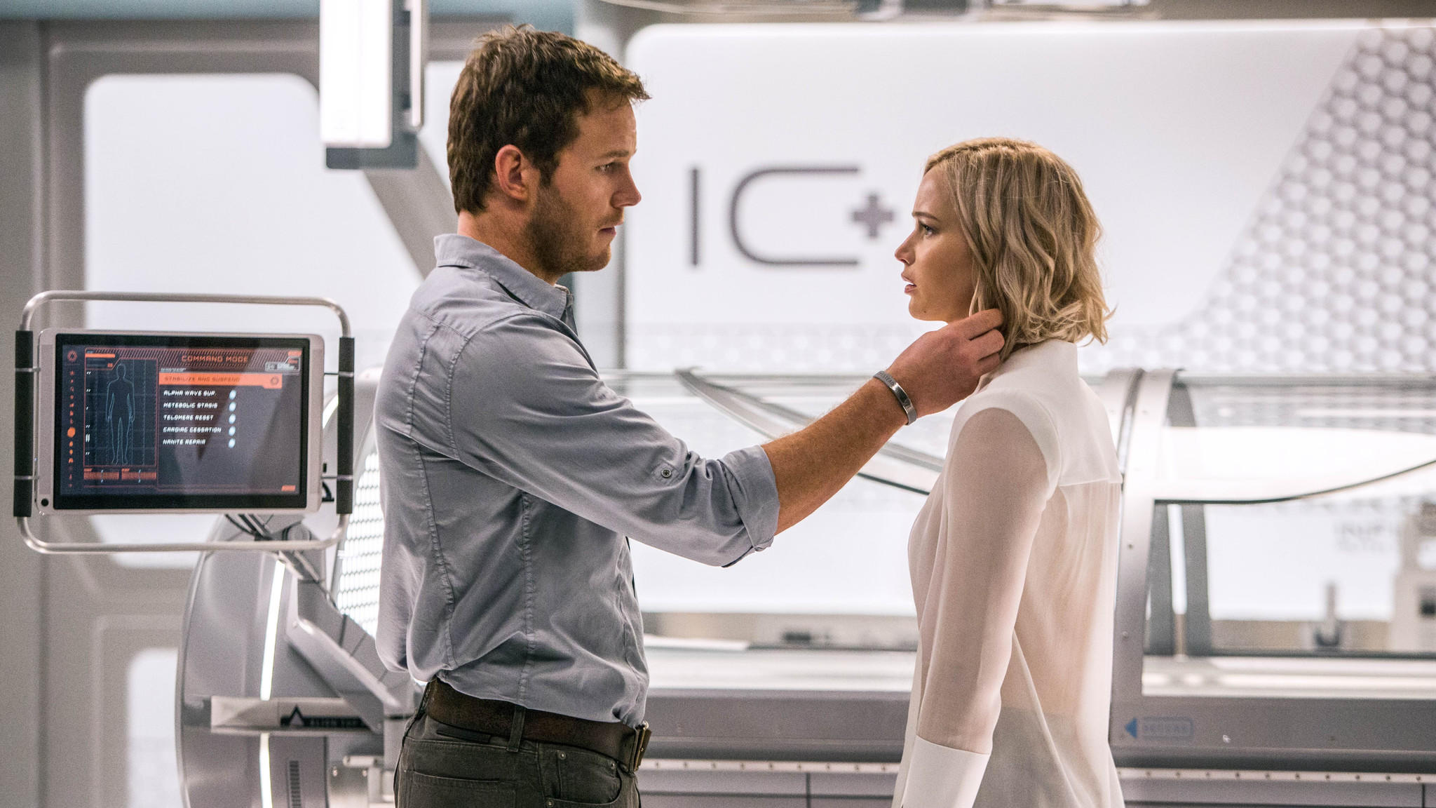 """Passengers, starring Chris Pratt and Jennifer Lawrence, was one of Sony Pictures' recent disappointments. (Columbia Pictures)"