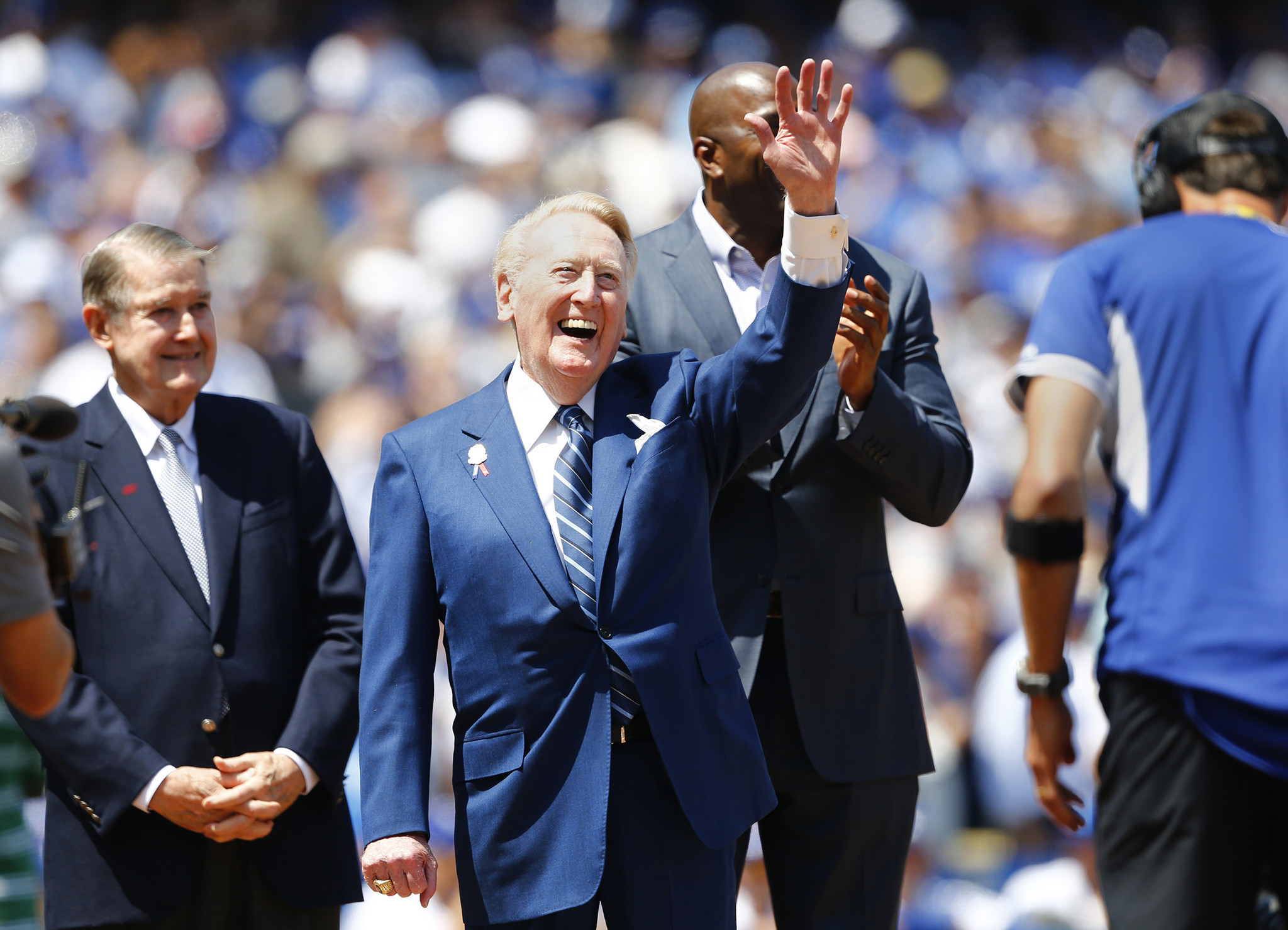 We're sending a massive love letter to Vin Scully. Here's how you can be a part of it. ""