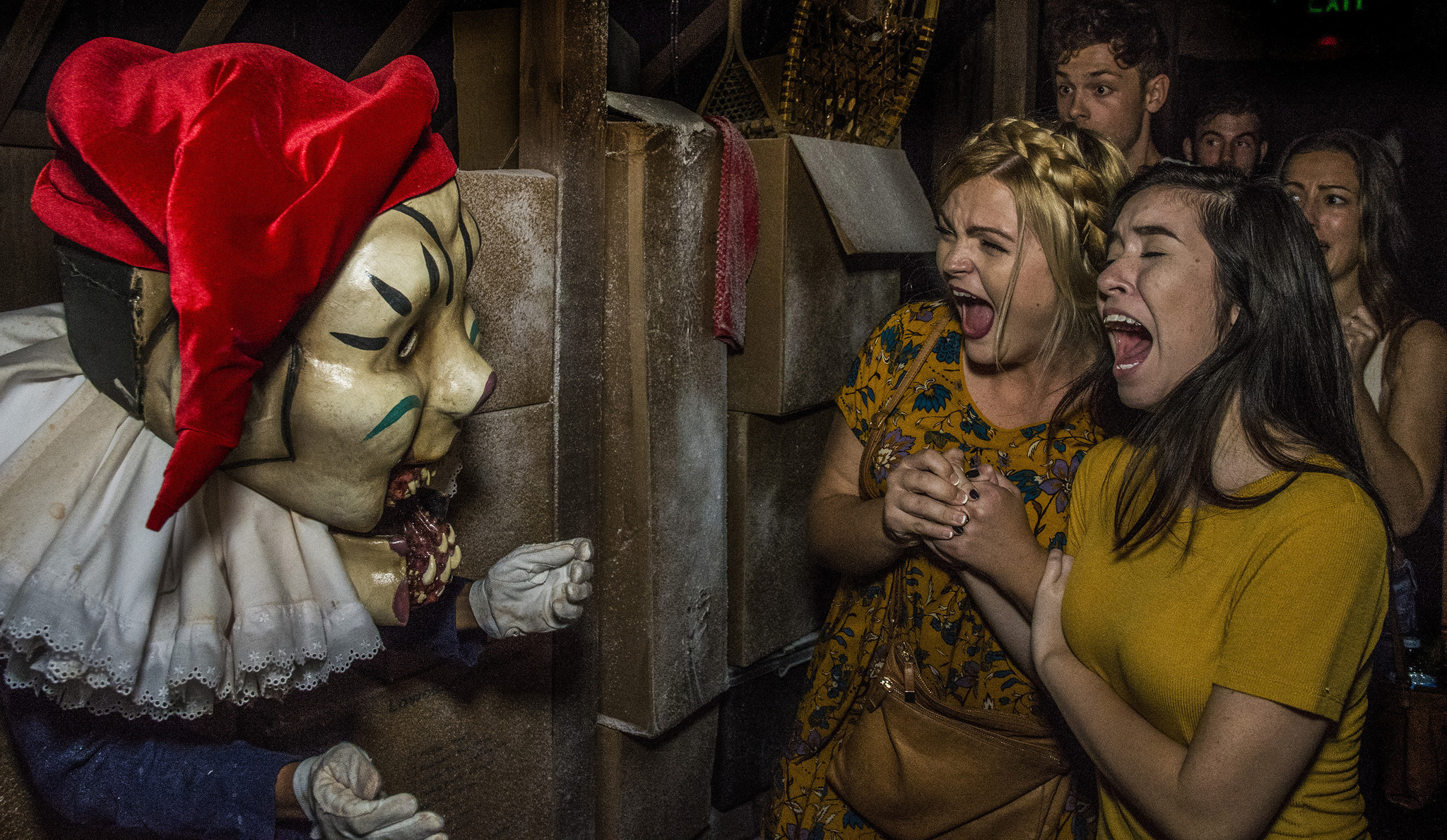 why universal's horror nights both repulses and attracts - orlando