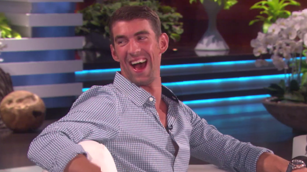 What Could Ellen Degeneres Give Michael Phelps A Pool For His Baby Of Course Baltimore Sun