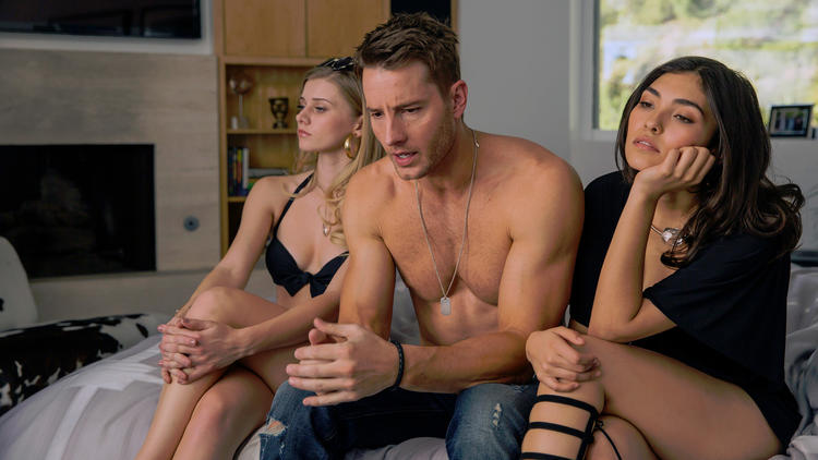 "Kevin (Justin Hartley) has a 36th birthday crisis in ""This Is Us."" (Ron Batzdorff / NBC)"