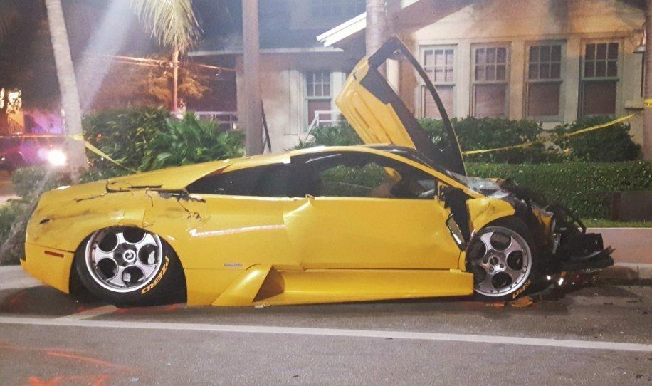 Police Investigate Fatal Crash Involving Lamborghini In