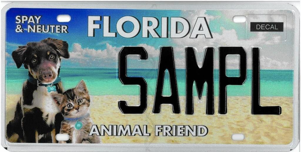 Car Registration Plates >> New tag helps control Florida's pet population - Orlando Sentinel