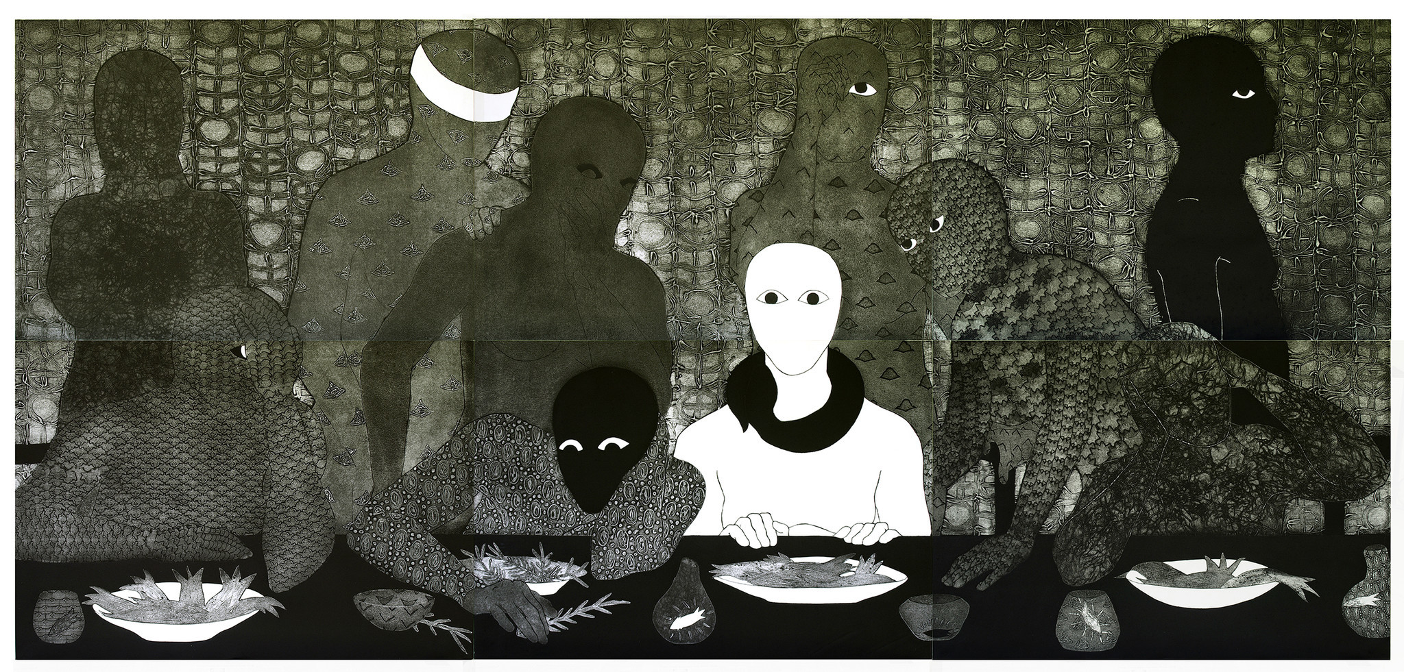 """La cena"" (""The Supper""), 1991."