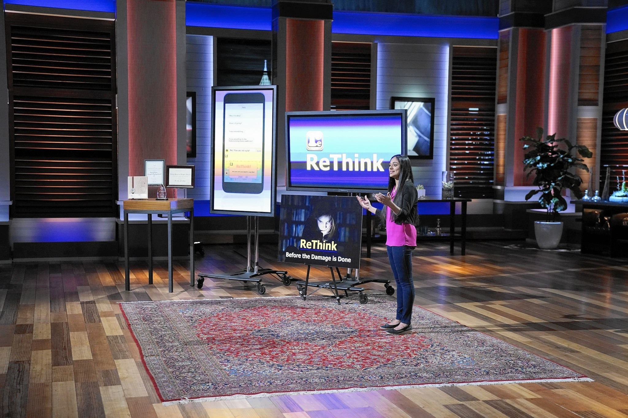 Trisha Prabhu, creator of Rethink, an app to stop cyberbullying