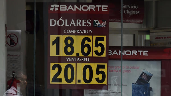 Fears for Mexico's economy grow as the peso nears the 20 to the dollar mark