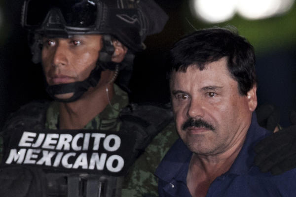 Money launderer for 'El Chapo' gets 8 years in U.S. prison