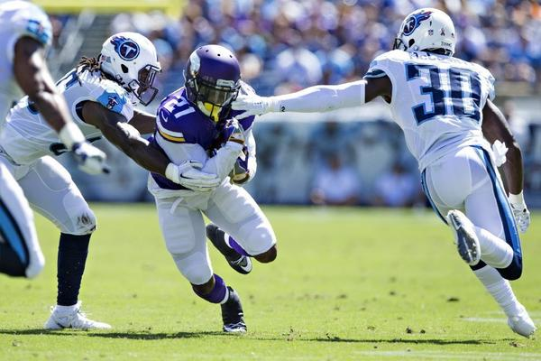 NFC notes: Which Vikings running back will step in for Adrian Peterson?