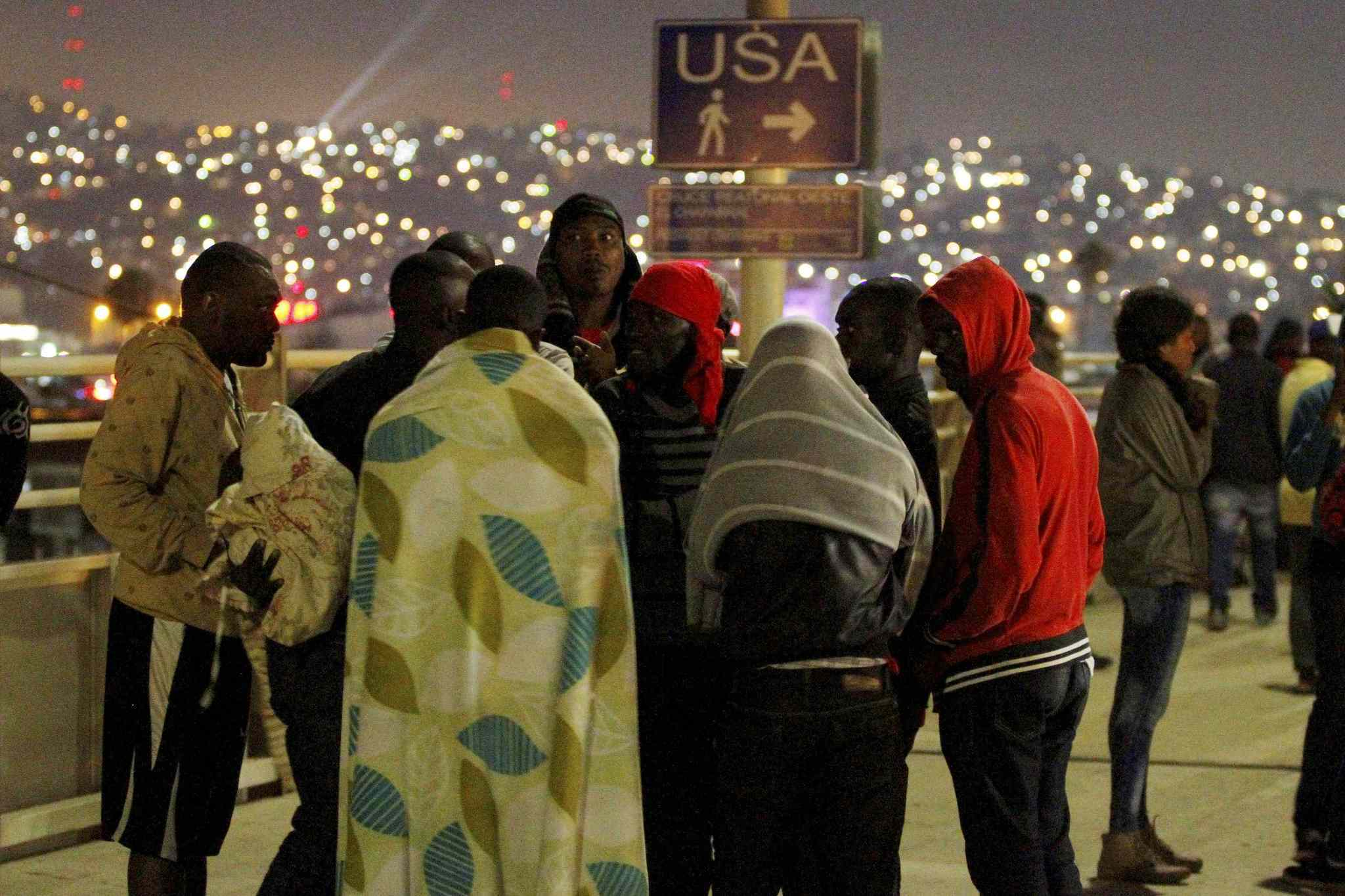 Uncertainty For Haitians In Tijuana The San Diego Union