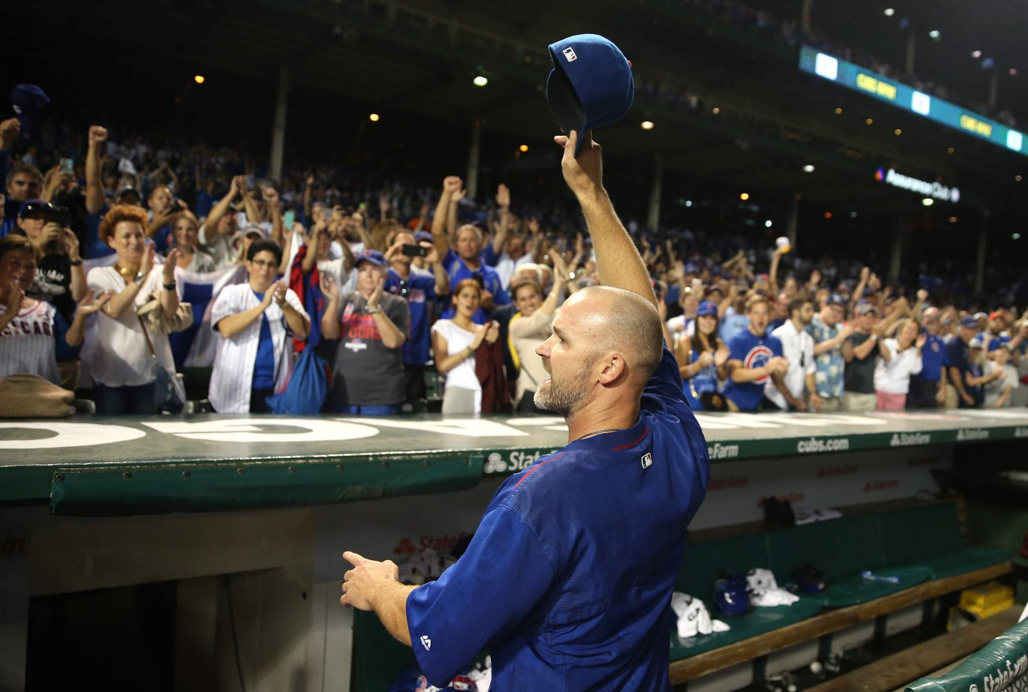 David Ross on emotional Sunday at Wrigley: 'I'm such a crybaby'