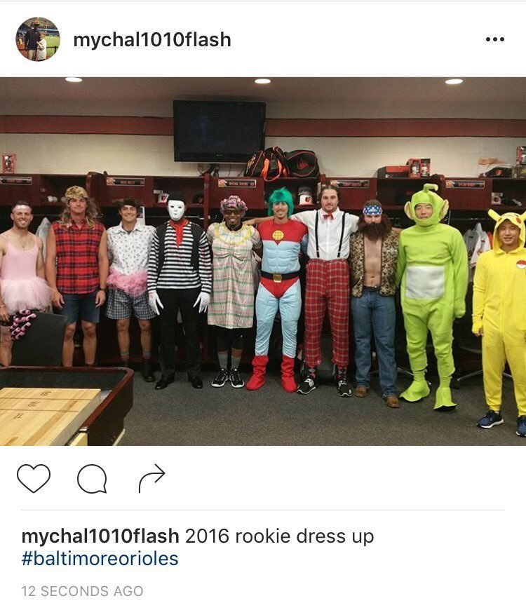 Bal-hyun-soo-kim-is-a-teletubby-dylan-bundy-goes-duck-dynasty-for-orioles-road-trip-20160926