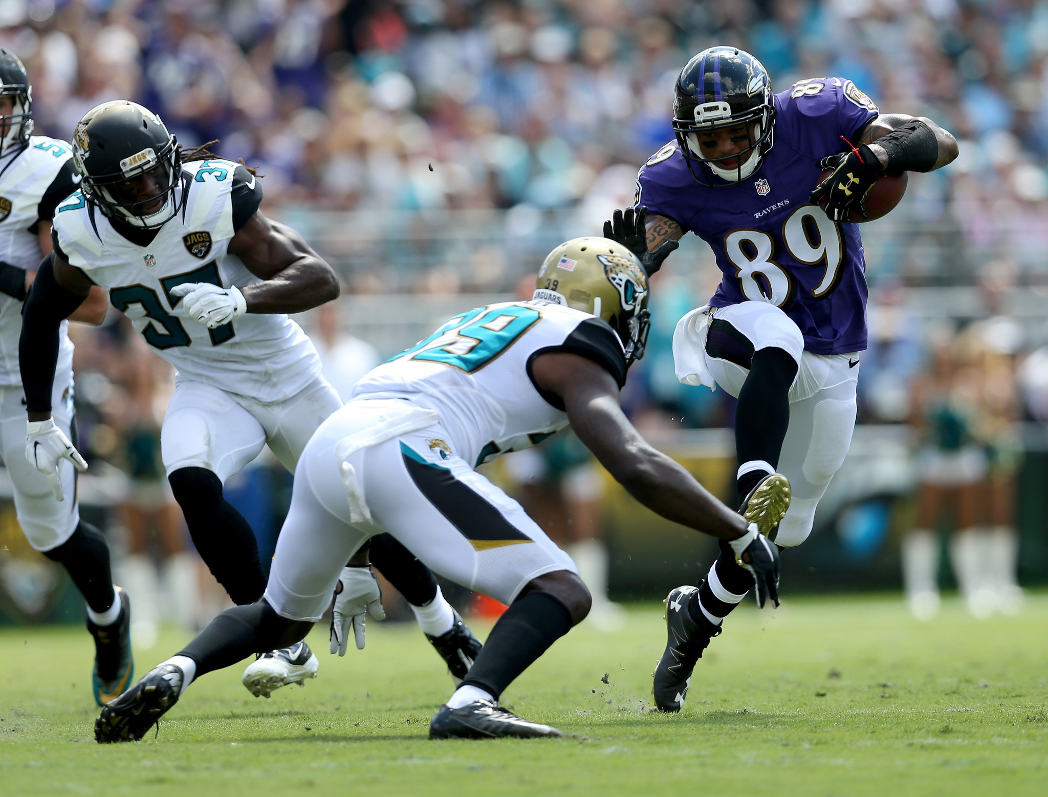 Ravens coach John Harbaugh has no problem with Steve Smith Sr s