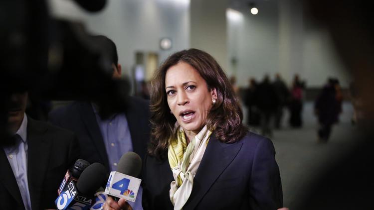 U.S. Sen. Kamala Harris (Al Seib / Los Angeles Times)