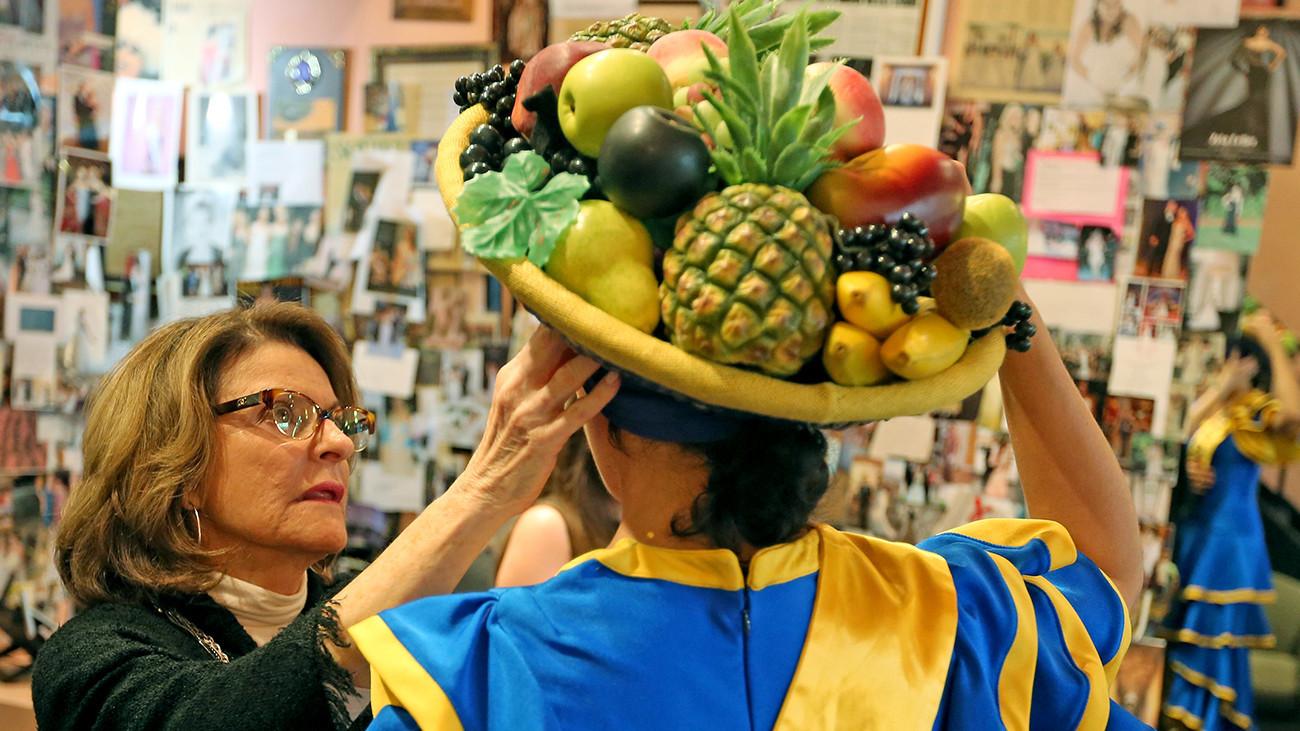 Zola Keller Designs Updated Miss Chiquita Banana Costume Sun Sentinel