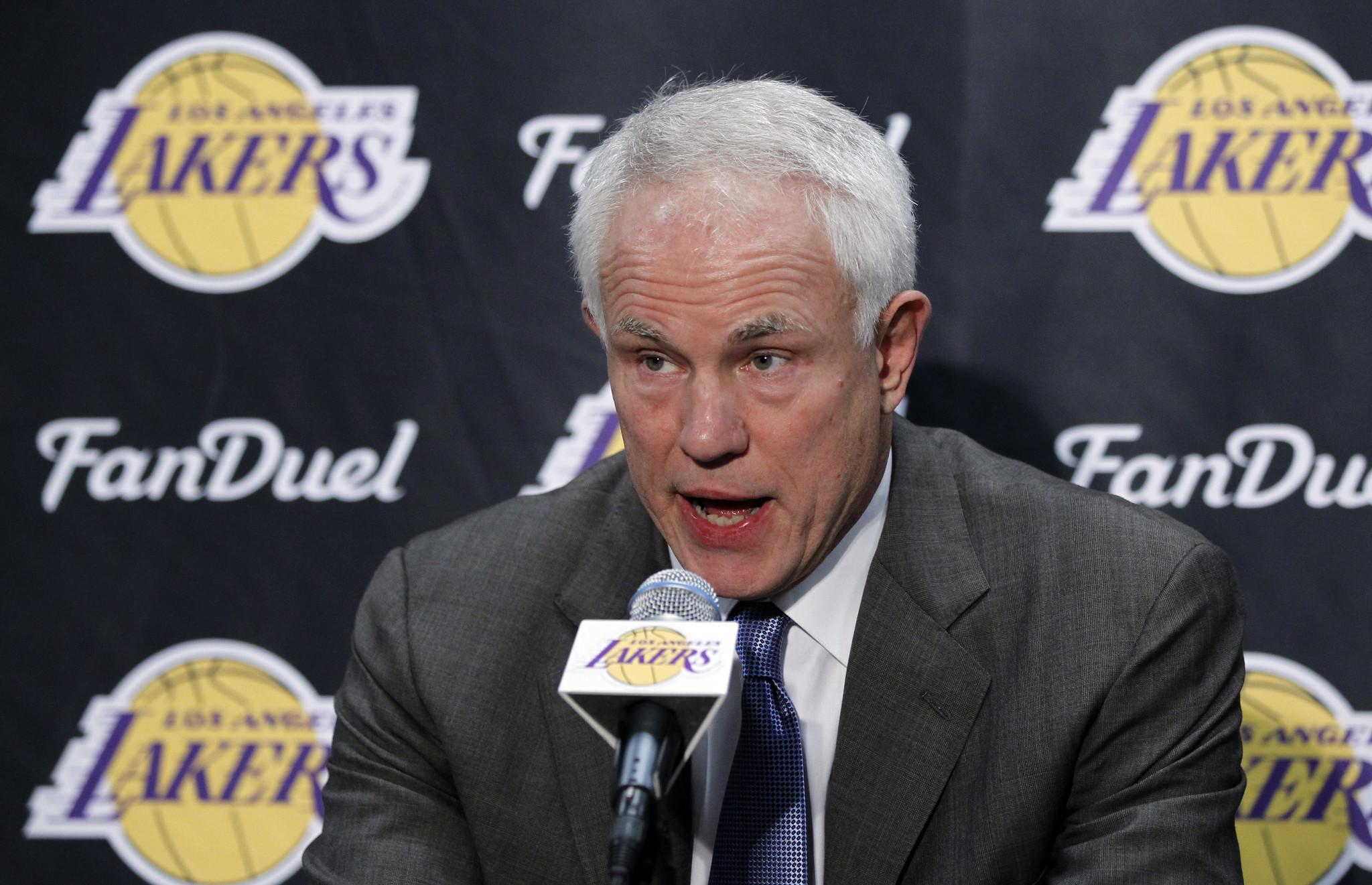 Lakers GM Mitch Kupchak wants to win more this season but won t