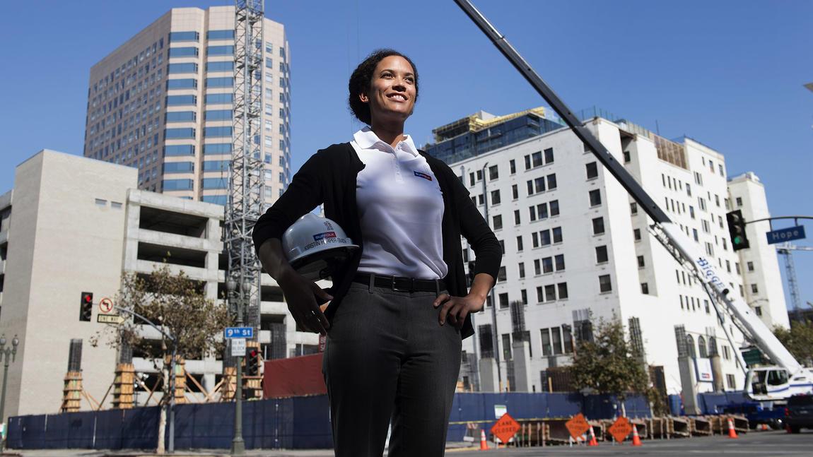 Kirstin Harper-Smith in the LA Times